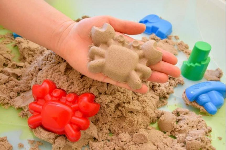 Космический кинетический песок