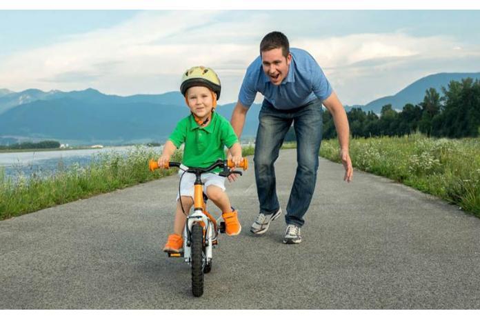 Что же развивает езда на велосипеде?...