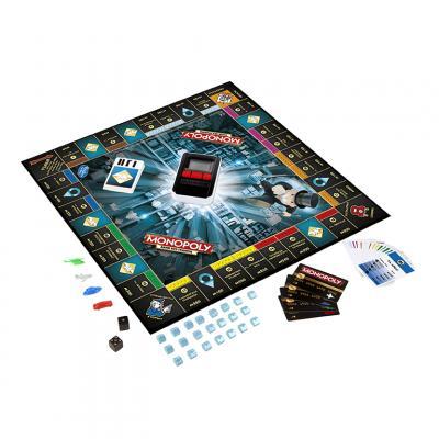 Купить МОНОПОЛИЯ С БАНКОВСКИМИ КАРТАМИ (ОБНОВЛЕННАЯ), HASBRO GAMES (B6677)
