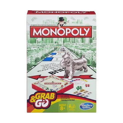 Купить ДОРОЖНАЯ МОНОПОЛИЯ, HASBRO GAMES (B1002)