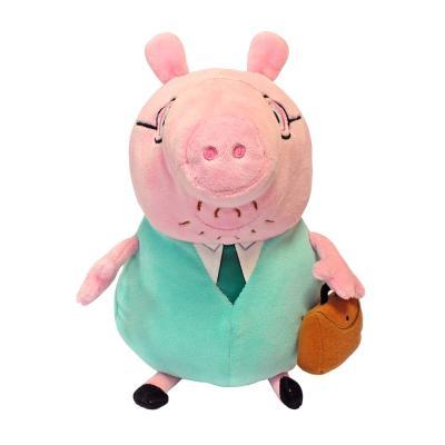 Купить ПАПА СВИН С ПОРТФЕЛЕМ, 30 СМ, PEPPA PIG (30292)