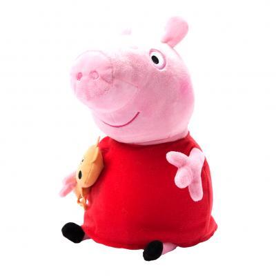 Купить СВИНКА ПЕППА С ИГРУШКОЙ, 40 СМ, PEPPA PIG (31157)