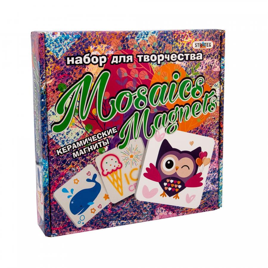 Купить НАБОР ДЛЯ ТВОРЧЕСТВА STRATEG MOSAICS MAGNETS (882)