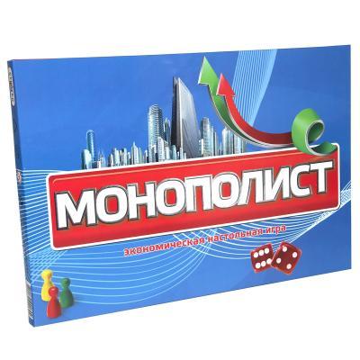 Купить НАСТОЛЬНАЯ ИГРА STRATEG МОНОПОЛИСТ НА РУССКОМ ЯЗЫКЕ(348)