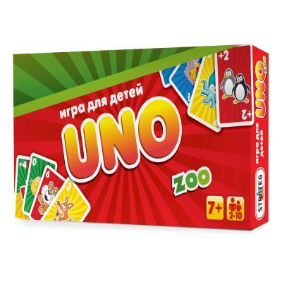Купить UNO: ДЕТСКАЯ ZOO, STRATEG (40255)