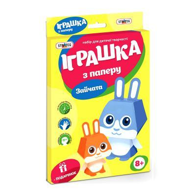 Купить ОБЪЕМНЫЕ ФИГУРЫ ЗАЙЧИКИ (УКР.), STRATEG (202-01)