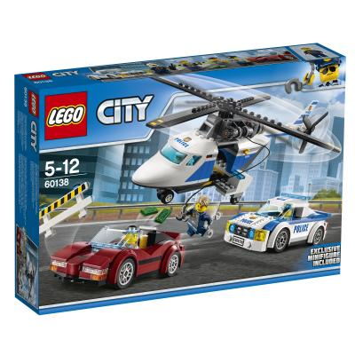 Купить СТРЕМИТЕЛЬНАЯ ПОГОНЯ, LEGO (60138)
