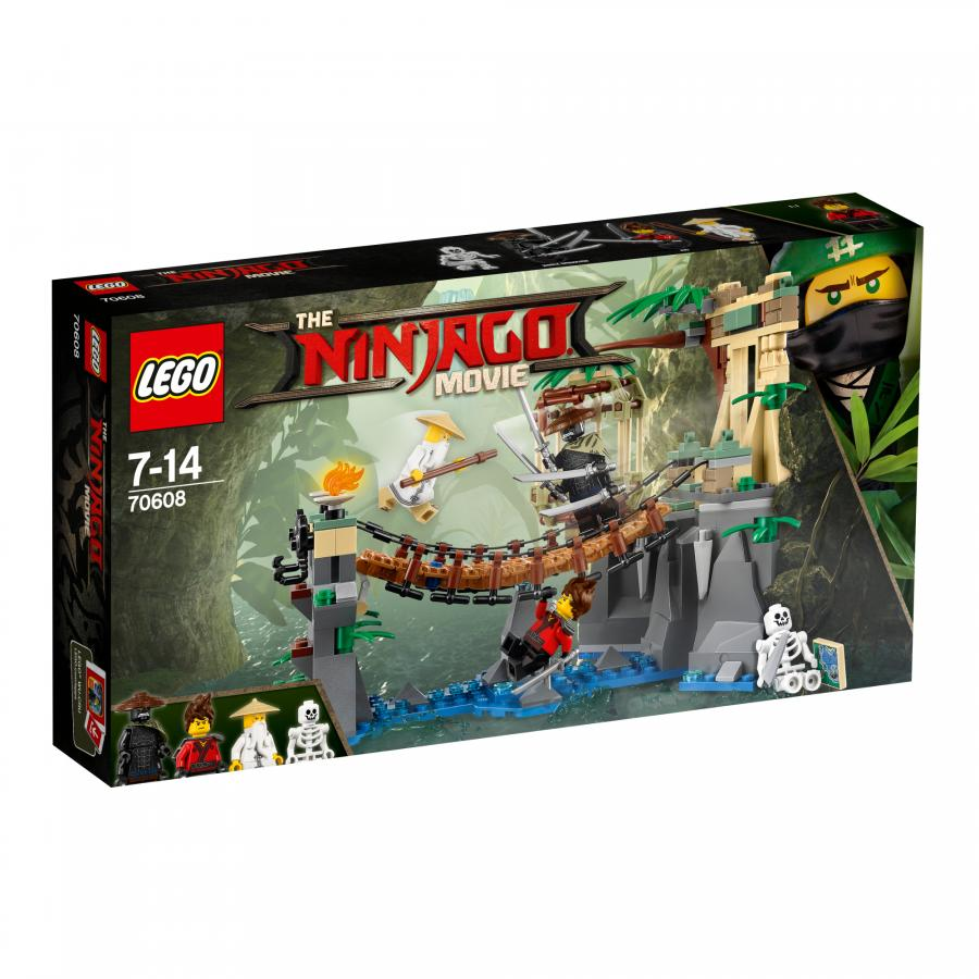 Купить БИТВА ГАРМАДОНА И МАСТЕРА ВУ, LEGO (70608)