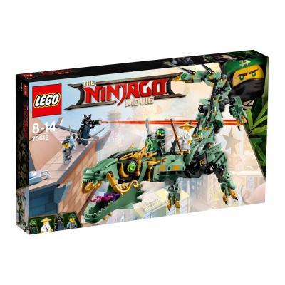 Купить МЕХАНИЧЕСКИЙ ДРАКОН ЗЕЛЁНОГО НИНДЗЯ, LEGO (70612)