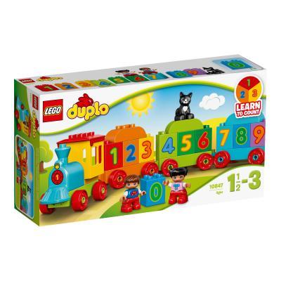 Купить ПОЕЗД С ЦИФРАМИ, LEGO (10847)