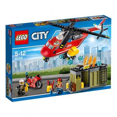 Купить АВТОМОБИЛЬ ПОЖАРНОЙ ОХРАНЫ, LEGO (60108)