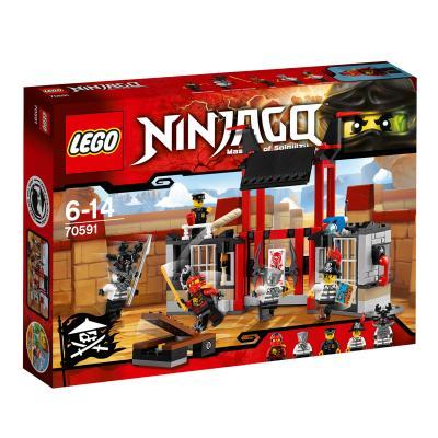 Купить ПОБЕГ ИЗ ТЮРЬМЫ КРИПТАРИУМ, LEGO (70591)
