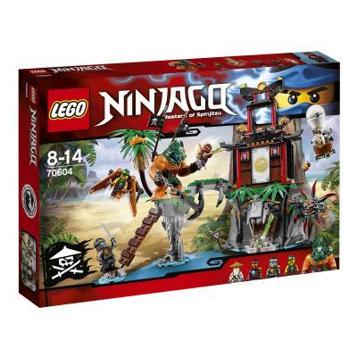 Купить ОСТРОВ ТИГРИНЫХ ВДОВ, LEGO (70604)
