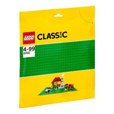 Купить БАЗОВАЯ ПЛАСТИНА ЗЕЛЁНОГО ЦВЕТА, LEGO (10700)