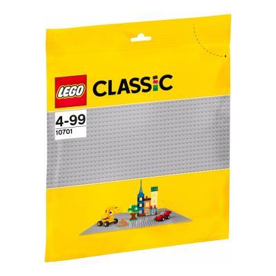 Купить СТРОИТЕЛЬНАЯ ПЛАСТИНА СЕРОГО ЦВЕТА, LEGO (10701)