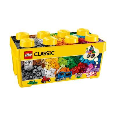 Купить КОРОБКА КУБИКОВ ДЛЯ ТВОРЧЕСКОГО КОНСТРУИРОВАНИЯ, LEGO (10696)