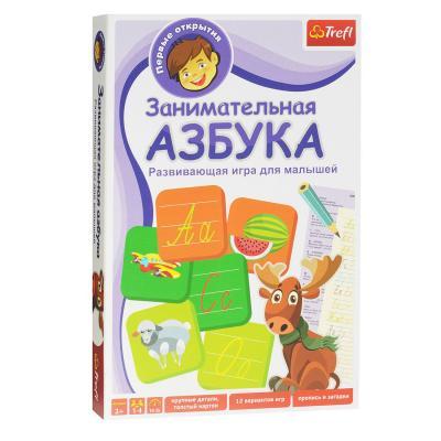 Купить НАСТОЛЬНАЯ ИГРА АЗБУКА, TREFL (TFL-01101)