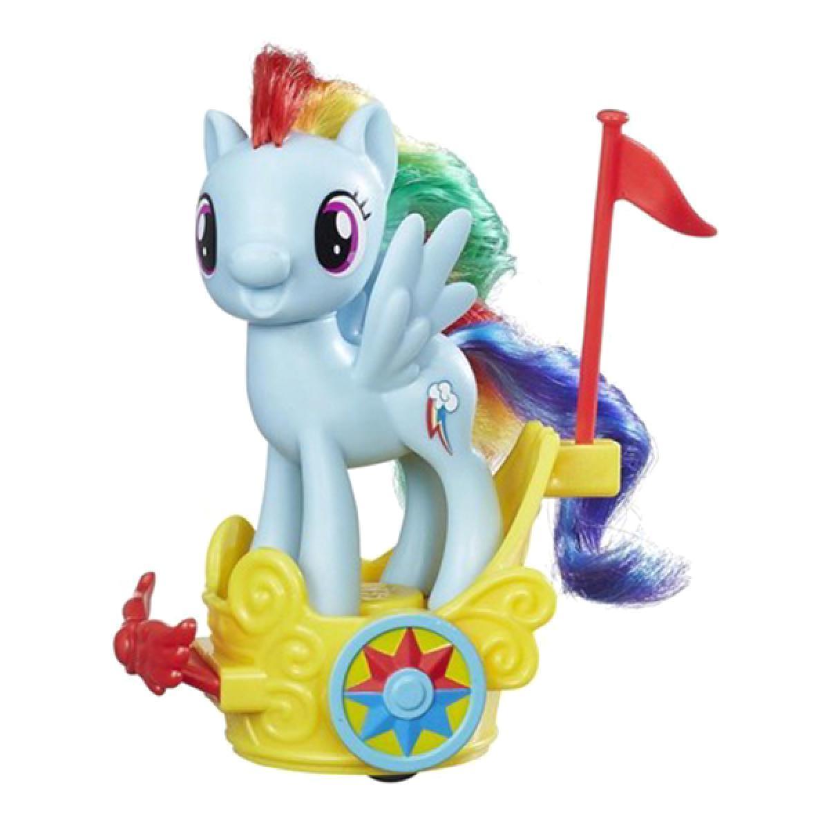 игровой набор пони в карете рейнбоу деш Rainbow Dash 8 см My