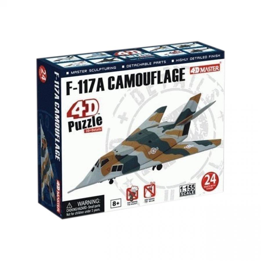 Купить 4D ПАЗЛ САМОЛЕТ F-117A, 24 ЭЛ, 4D MASTER (26211)