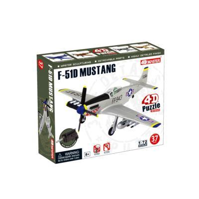 Купить ОБЪЕМНЫЙ ПАЗЛ ИСТРЕБИТЕЛЬ F-51D MUSTANG, 37 ЭЛЕМ., 4D MASTER (26902)