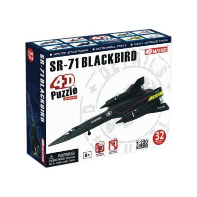 Купить 4D ПАЗЛ САМОЛЕТ SR-71, 32 ЭЛ., 4D MASTER (26223)