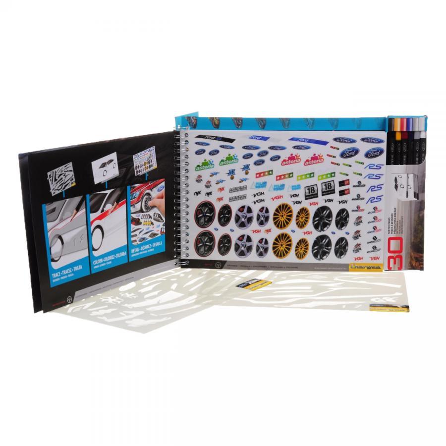 Купить АЛЬБОМ ДЛЯ ТВОРЧЕСТВА FORD FOCUS RS500, WOOKY (07011)_1
