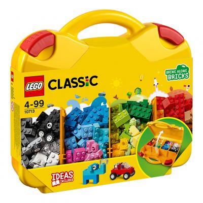 Купить ЧЕМОДАНЧИК ДЛЯ ТВОРЧЕСТВА И КОНСТРУИРОВАНИЯ, LEGO (10713)