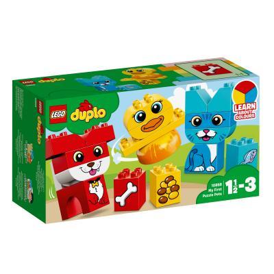 Купить МОИ ПЕРВЫЕ ДОМАШНИЕ ЖИВОТНЫЕ, LEGO (10858)
