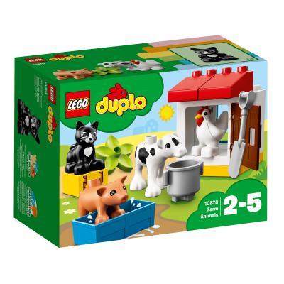 Купить ФЕРМА: ДОМАШНИЕ ЖИВОТНЫЕ, LEGO (10870)