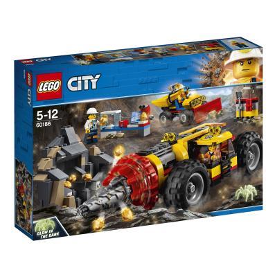 Купить ТЯЖЕЛЫЙ БУР ДЛЯ ГОРНЫХ РАБОТ, LEGO (60186)