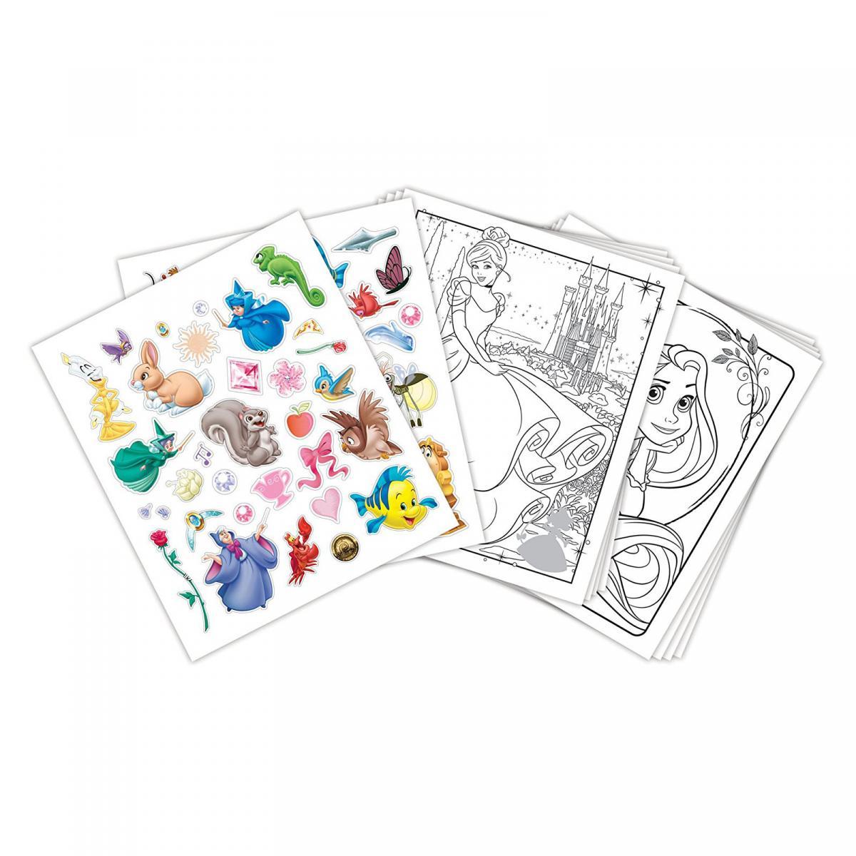 Раскраска Принцессы с наклейками, 48 стр., Crayola (04 ...