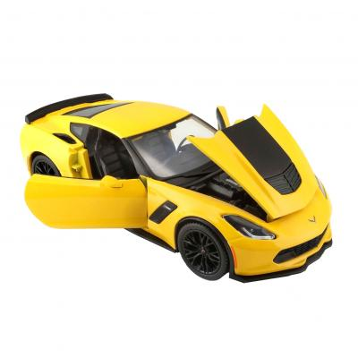 Купить АВТОМОДЕЛЬ 2015 CHEVROLET CORVETTE Z06, 1:24, MAISTO (31133 YELLOW)