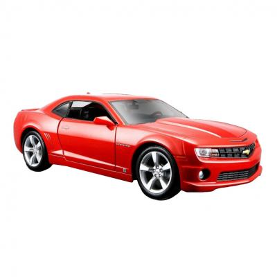 Купить АВТОМОДЕЛЬ 2010 CHEVROLET CAMARO SS RS, 1:24, MAISTO (31207 MET. ORANGE)