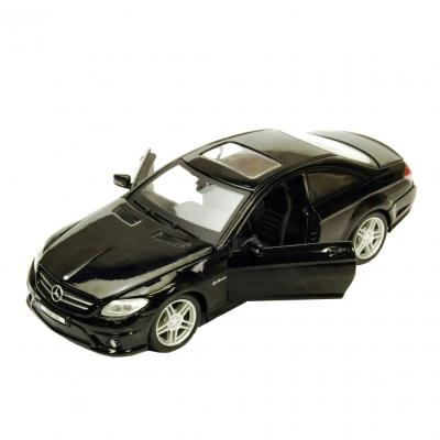 Купить АВТОМОДЕЛЬ MERCEDES-BENZ CL63 AMG, 1:24, MAISTO (31297 MET. BLACK)