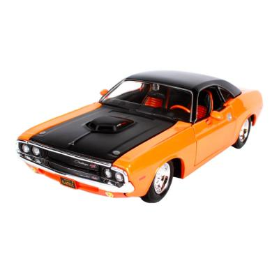 Купить АВТОМОДЕЛЬ DODGE CHALLENGER R/T, 1:24, MAISTO (32518 ORANGE)