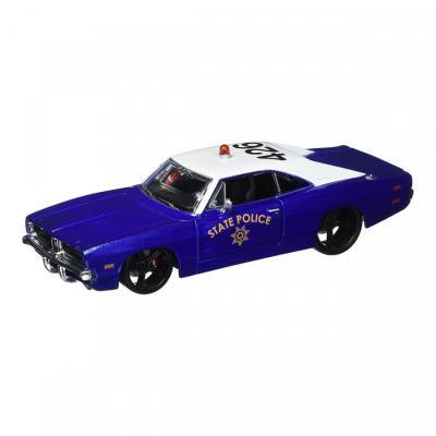 Купить DODGE CHARGER R/T 1969, 1:24, СИНИЙ, MAISTO (32519 BLUE)