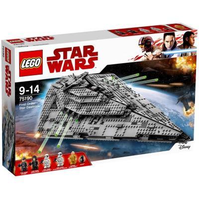 Купить ЗВЕЗДНЫЙ ИСТРЕБИТЕЛЬ ПЕРВОГО ОРДЕНА, LEGO (75190)