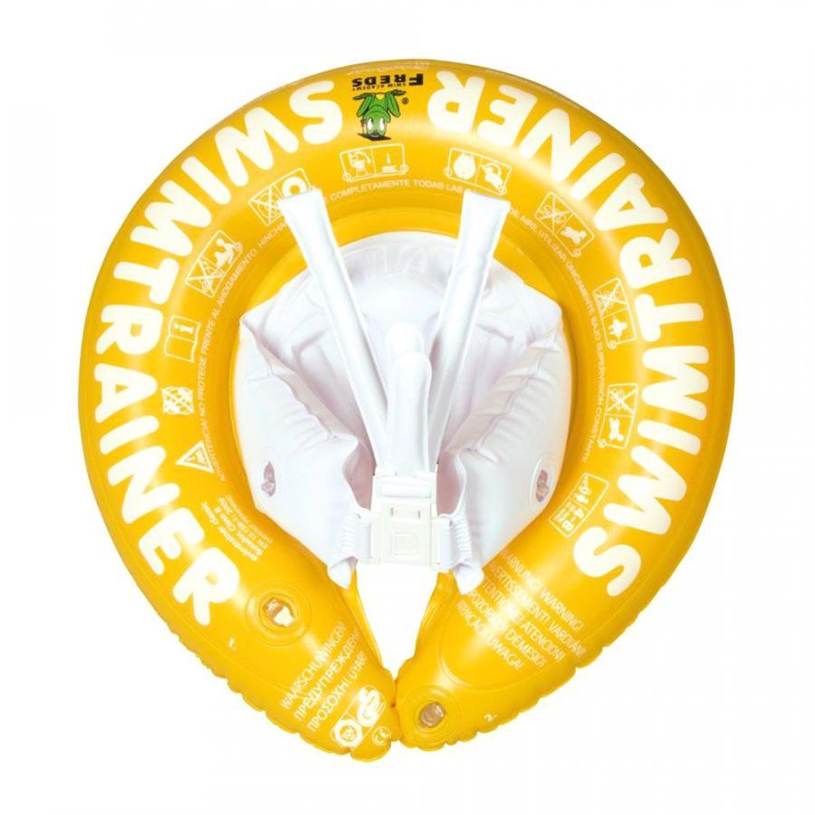 Купить НАДУВНОЙ КРУГ  SWIMTRAINER CLASSIC, ЖЕЛТЫЙ, SWIMTRAINER (10330)