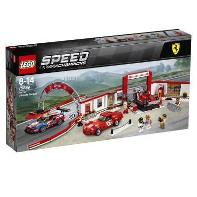 Купить УНИКАЛЬНЫЙ ГАРАЖ FERRARI, LEGO (75889)