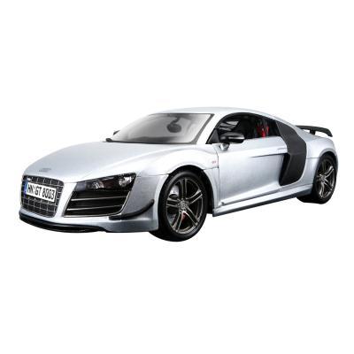 Купить АВТОМОДЕЛЬ AUDI R8 GT, 1:18, MAISTO (36190 SILVER)