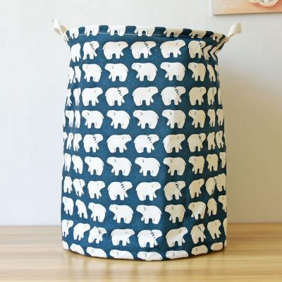 Купить КОРЗИНА ДЛЯ ИГРУШЕК WHITE BEARS, BERNI (39671)