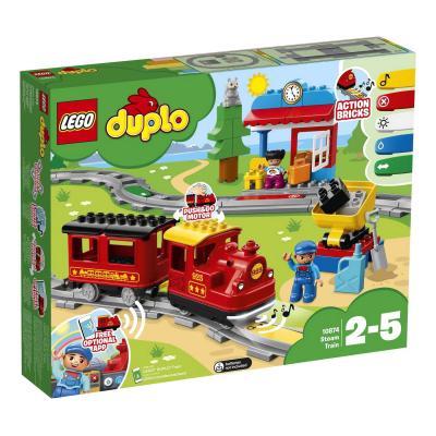 Купить ПАРОВОЗ, LEGO (10874)