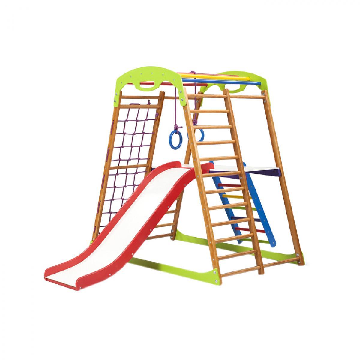 6bc114c9b5d7 Детский спортивный комплекс для дома BabyWood Plus 2, SportBaby (BabyWood  Plus 2)