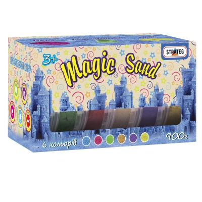 Купить КИНЕТИЧЕСКИЙ ПЕСОК STRATEG MAGIC SAND, 6Х150 ГР(51000)