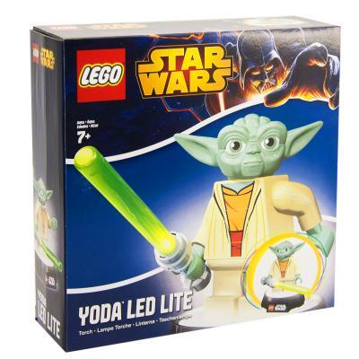 Купить ФОНАРИК-НОЧНИК LEGO ЗВЁЗДНЫЕ ВОЙНЫ ЙОДА, IQ (LGL-TOB6T)