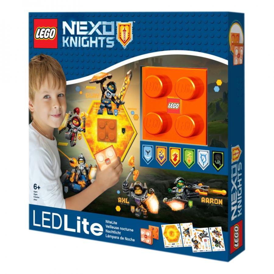Купить СВЕТОДИОДНЫЙ НОЧНИК LEGO NEXO KNIGHTS, IQ (LGL-NI7)