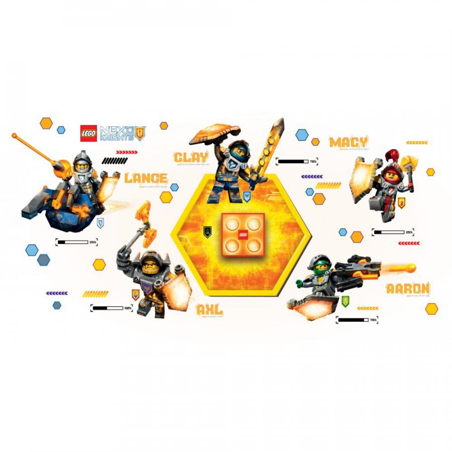 Купить СВЕТОДИОДНЫЙ НОЧНИК LEGO NEXO KNIGHTS, IQ (LGL-NI7)_1