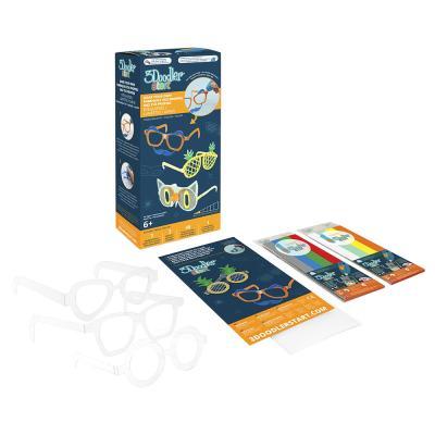 Купить НАБОР АКСЕССУАРОВ ДЛЯ 3D-РУЧКИ 3DOODLER START  МОДНЫЕ ОЧКИ, 52 ЭЛ., 3DOODLER CREATE (8SMKEYEG3R)
