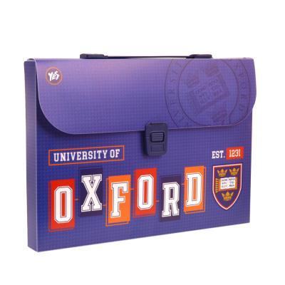 Купить ПОРТФЕЛЬ ПЛАСТИКОВЫЙ OXFORD, СИНИЙ, YES (491445)