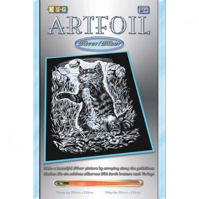 Купить НАБОР ДЛЯ ТВОРЧЕСТВА ARTFOIL SILVER KITTEN, SEQUIN ART (SA1034)